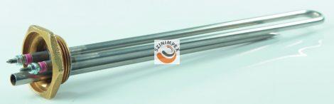 Fűtőbetétek ipari víz-és olaj melegítőkbe - 3000 W, menet: 5/4, 600x30 mm