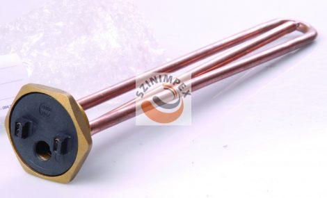 Fűtőbetétek ipari víz-és olaj melegítőkbe - 1200 W, menet: 5/4, termosztát nélkül