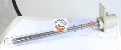 Galván fűtőbetétek ipari víz-és olaj melegítőkbe - 1200 W, 60 cm