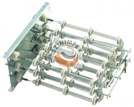 Szellőzőbe való ipari bordás csőfűtőszálak - 3000 W, 263 x 235 mm