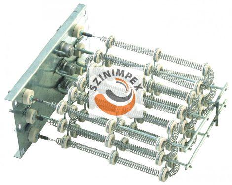 Szellőzőbe való ipari bordás csőfűtőszálak - 3 x 3166 W, 263 x 235 mm