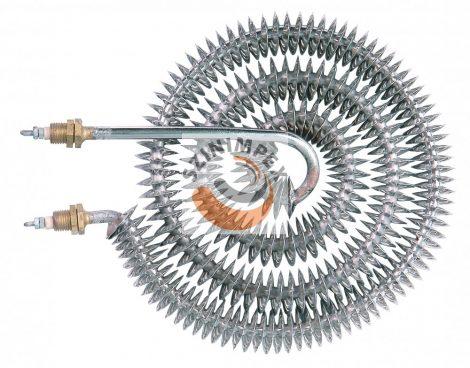 Szellőzőbe való ipari bordás csőfűtőszálak- 1500 W