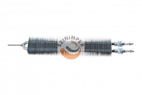 Szellőzőbe való ipari bordás csőfűtőszálak - 800 W, L:280 mm