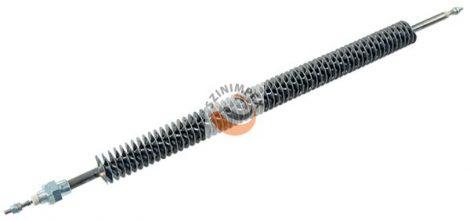 Szellőzőbe való ipari bordás csőfűtőszálak - 1000 W, 560 mm hossz