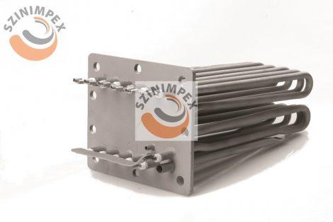 Becsavarható fűtőbetét ipari mosogatógépekhez - 6x3000 , 74x190mm, incoloy