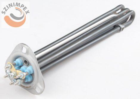 Becsavarható fűtőbetét ipari mosogatógépekhez - 3*1500 W, 350 x 35 mm, incoloy