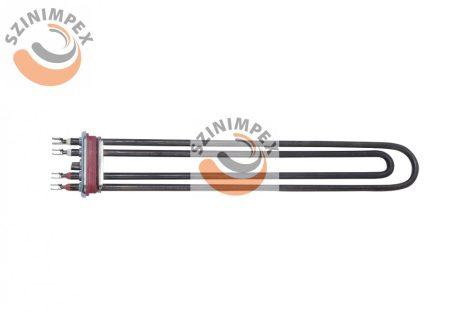 Becsavarható fűtőbetét ipari mosogatógépekhez - 2x1800 W, 300x65 mm, incoloy