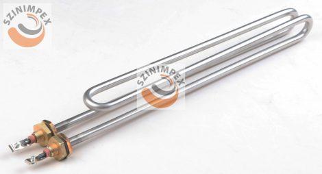Becsavarható fűtőbetét ipari mosogatógéphez - 3000 W; átmérő - 8,3 mm, 559 x 35 mm, incoloy