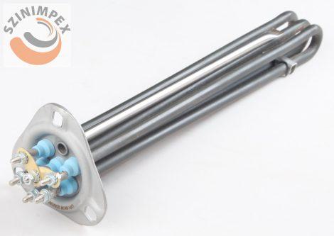 Becsavarható fűtőbetét ipari mosogatógépekhez -  3*3000 W,420 x 35 mm, incoloy