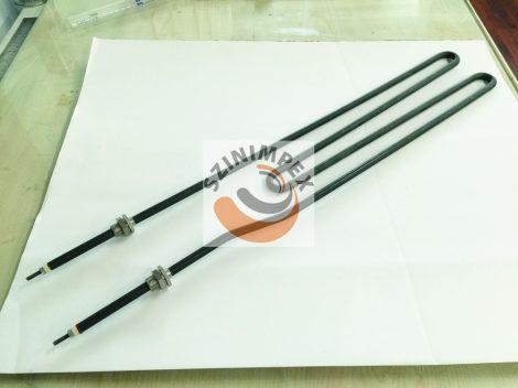 Fűtőbetét ipari sütőkhöz - 1280 W, anyag: 304