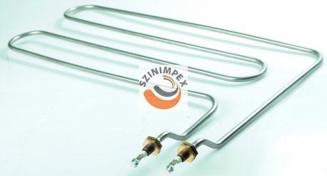 Ipari csőfűtőszál büfékhez - 3000 W, anyag: 304