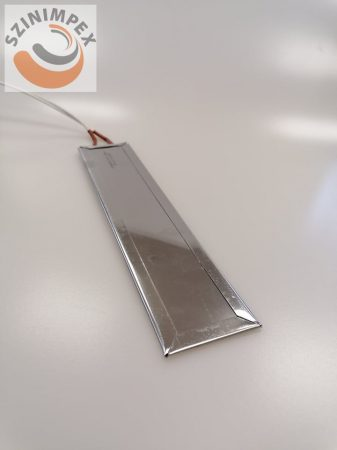 Lapos fűtőbetét hossz:255 mm, szélesség:55 mm, 230 V, 1300 W, Vezeték:500 mm