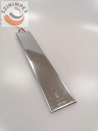 Lapos fűtőbetét- szélesség: 45 mm, hossz:255 mm, 230 V, 1300 W, Vezeték:500 mm