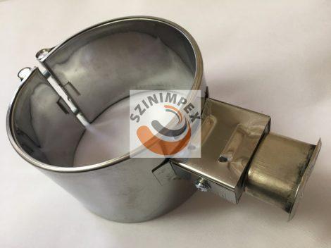 Palást fűtőbetét, 120x80 mm, 230V, 1000W, vasaló csatlakozó