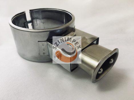 Palást fűtőbetét, 80x45 mm, 230V, 450W, vasaló csatlakozó