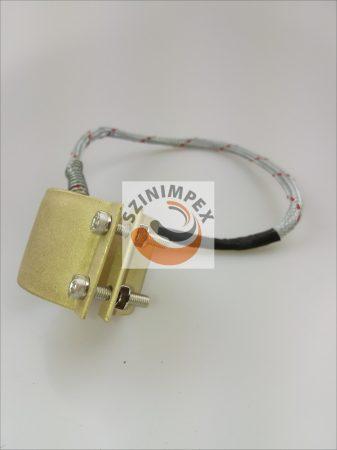 Palást fűtőbetét, 40x40 mm, 450 W, 230 V, kábel: 2 m