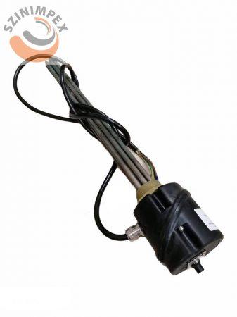 """Becsavarható fűtőbetét 3U"""", (SS 1.4404)  Ø8,5x600mm, (Nem fűtőtt rész 110mm), 230 V/ 3x2500 W (7,5kW), 6/4"""", DIN2527 védősapkával IP65, termosztát 3P 80-110°C"""