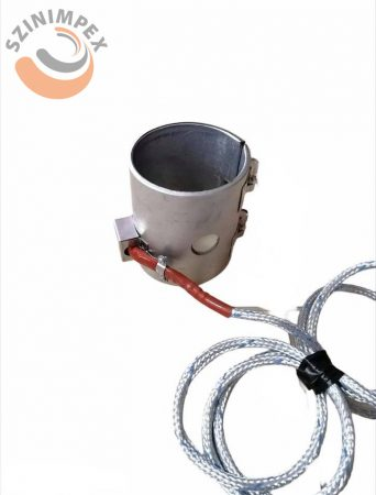 Palást fűtőbetét, 90 x 115 mm, 230 V, 1100 W, furat átmérő: 22 mm, vezeték: 2000 mm