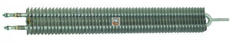 Bordázott fűtőbetét gyors rögzítőcsavarokkal rendelkező modellek - 1000 W, 1500 W, 1750 W, 2000 W, 2500 W; 230 V