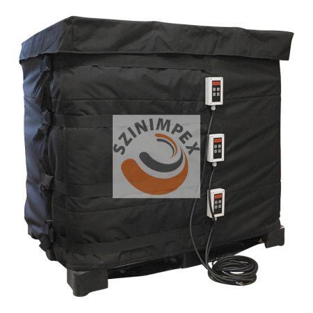 IBC melegítő paplan - 3 x 1000 W - (0-90°C)