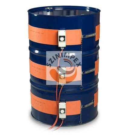 Szilikon hordómelegítő - 25 liter - (0-120°C)