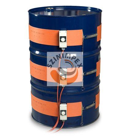 Szilikon hordómelegítő - 50 liter - (0-120°C)