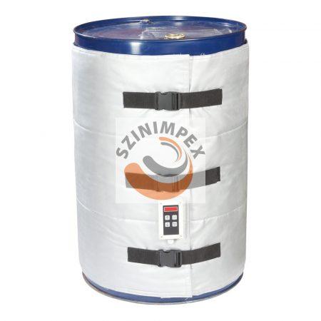 Hordómelegítő paplan 200 literes hordóhoz analóg Jumo szabályzóval (0-200°C-ig)