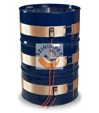 Szilikon hordómelegítő - economy - (0-130°C) - 50 liter