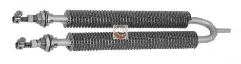 U alakú bordázott fűtőbetét- M18 menettell - teljes átmérő 32 mm - 1000, 3000, 4200 W