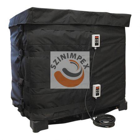 IBC melegítő paplan - 2x1000 W - (0-90°C) - 640 L