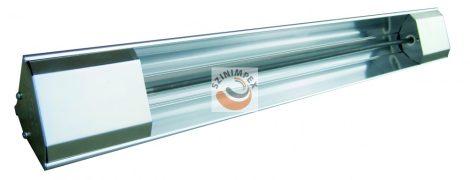 Fali radiátor - Dupla, 2 elemes infrák - 2200W, 3000W, 3800W, 4600W; 230 V, 400 V