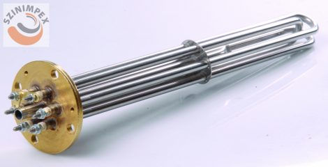 Becsavarható fűtőbetét ipari mosogatógépekhez - 3x1500 W, L:420 mm