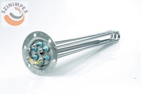 Becsavarható fűtőbetét ipari mosogatógépekhez -  3 x 4000 W,  L:420 mm