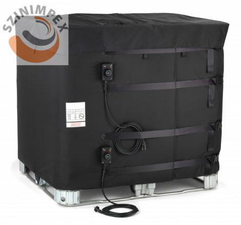 Kettős szigetelésű IBC tartály melegítő paplan IP40 védettséggel 0-40°C, 0-90°C, 4 m tápkábellel