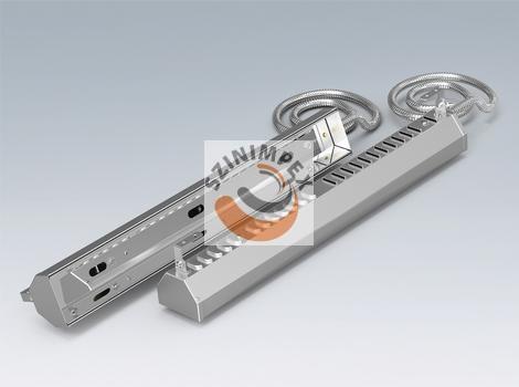 Polierte Aluminium Stahl-Projektoren -  2600 W - PAS3