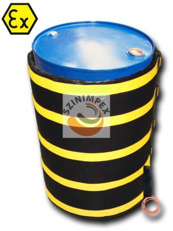 200 literes ATEX robbanásbiztos hordómelegítő