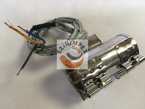 Palást fűtőtest, 40x100 mm, 230 V, 350 W, vezeték: 300 mm