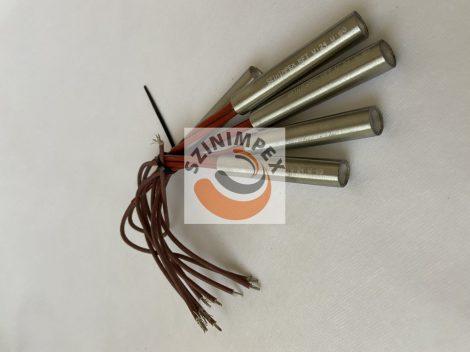 Fűtőpatron - 13,5 x 80 mm - 80 W, 24 V, vezeték: 200 mm