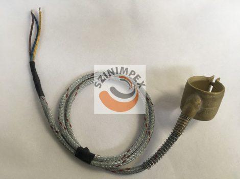 Palást fűtőtest, 35x35 mm, 230 V, 190 W, vezeték: 1200 mm