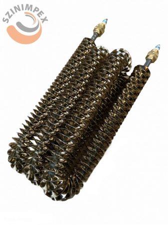 Bordázott csőfűtőszál Ø8,5 mm, 230 V, 1800 W