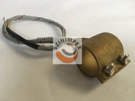 Palást fűtőtest, 40x45 mm, 230 V, 275 W, vezeték: 300 mm, J-típusú hőérzékelővel