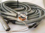 Fűtőpatron, 15x65 mm, 230 V, 500 W, vezeték: 800 mm