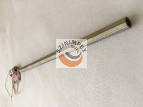 Fűtőpatron, 10x250 mm, 230 V, 500 W, vezeték: 300 mm