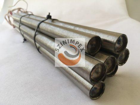 Fűtőpatron, 18x350 mm, 230V, 1500W, vezeték: 300mm