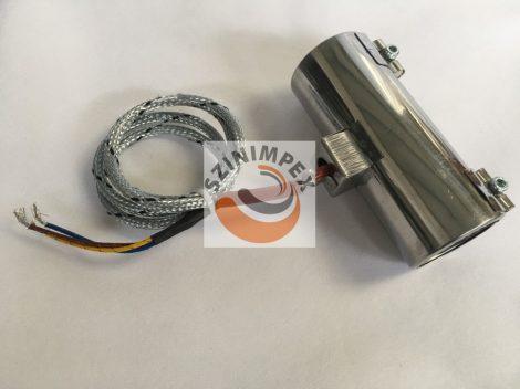 Palást fűtőtest, 55x150 mm, 230 V, 550 W, vezeték: 1200 mm