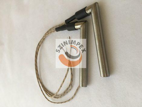 Fűtőpatron, 10x80 mm, 230 V, 400 W, vezeték: 300 mm