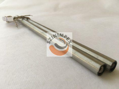 Fűtőpatron, 12x255 mm, 230 V, 200 W, vezeték: 300 mm