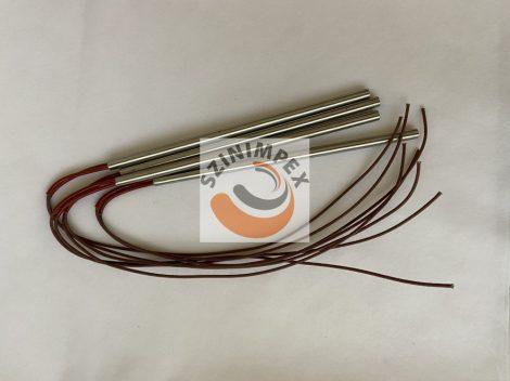 Fűtőpatron - 10 x 250 mm - 750 W, 230 V, vezeték: 300 mm