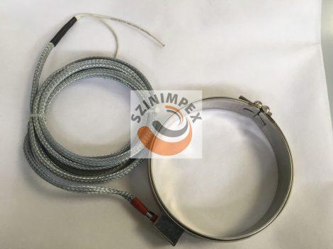 Palást fűtőtest, 167x31 mm, 400 V, 750 W, vezeték: 3000 mm