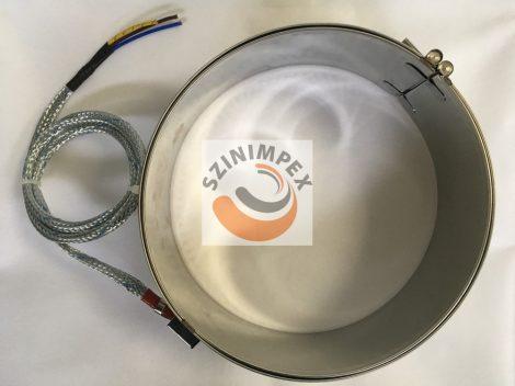 Palást fűtőtest, 240x88 mm, 230 V, 1700 W, vezeték: 1000 mm